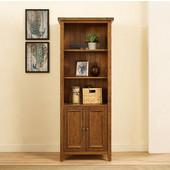 Sienna Bookcase, Moroccan Pine Finish, 28''W x 19''D x 72''H