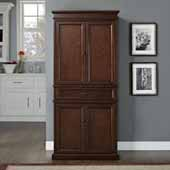 Parsons Pantry in Mahogany, 33''W x 72''H