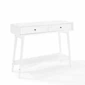 Landon Console Table, White Finish, 42'W x 14'D x 32-1/2'H
