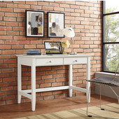 Campbell Writing Desk, White Finish, 42''W x 28''D x 30''H