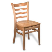 All Wood Carole Ladder Back Chair