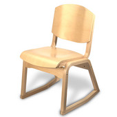 All Wood 2-Position Campus Chair
