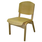 All Wood Campus Chair
