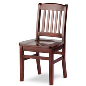 Bulldog Side Chair, Wood Seat