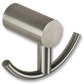 Satin Stainless Steel Twin Double Towel Hook
