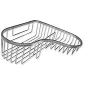 Corner Combo Stainless Steel Shower Basket 9�''W x 9�''D