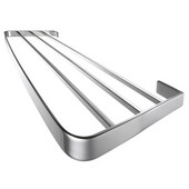 Vision Collection 20'' Towel Rack/Shelf, Polished
