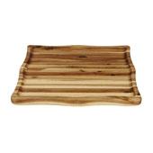 Acacia Concave Cutting Board, 16''W x 13-1/2''D x 1-1/2''H