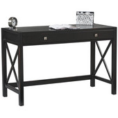 Anna Desk, 47''W x 20 1/2''D x 26''H, Antique Black