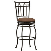 - Swag Counter Stool , 18'' W x 20'' D x 40 1/2'' H