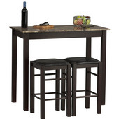 - Three Piece Tavern Set, Espresso