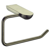 9501 Series Toilet Tissue Holder, Brushed Nickel, 6-3/10''W x 3-6/11''D x 3-3/8''H