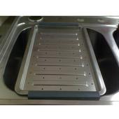 Stainless Steel Drain Board, 10 1-2'' W x 16 1-2'' D