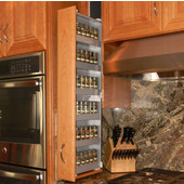 Dropout Cabinet Fixtures Spice Rack Storage System