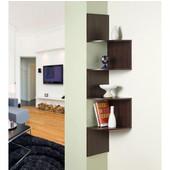 Hanging Corner Storage, Chocolate