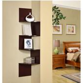 Hanging Corner Storage, Cherry