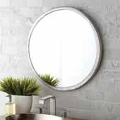 Divinity Round Mirror, 25''Diameter x 1''D