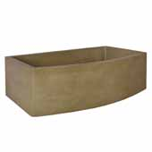 Farmhouse Quartet Kitchen Sink In Earth, 33''W X 20-1/2''D X 10-1/4''H