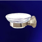 Empire Regent Satin Nickel Soap Dish and Holder