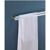 Beverly Collection 700 Series 24'' Double Towel Bar in Polished Chrome, 23-3/5'' W x 4-3/10'' D x 1-1/5'' H