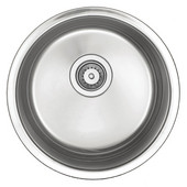 Empire - Round Bar Sink, 18'' Dia x 8'' H, Stainless Steel