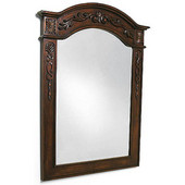 Empire Lido Collection Mirror, 30'' W x 1-5/8'' D x 40'' H, Dark Finish