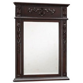 Empire - Verona Mirror, Dark Cherry