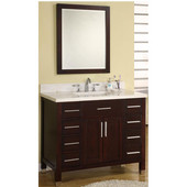 Empire 48'' Dark Cherry Vanity, Monaco Collection