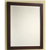 Empire Monaco Collection, 23'' Dark Cherry Mirror