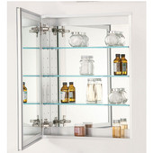 Empire - Broadway Single Door Medicine cabinet, 24'' W x 30'' H, Recessed