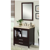 Empire - 30'' Chelsea Vanity, Dark Cherry