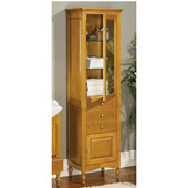 Empire Windsor Curio Cabinet, Cinnamon