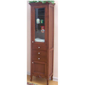 Empire Kensington Curio Cabinet, Cinnamon