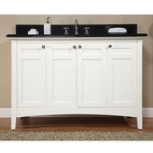Empire Biltmore 48'' Vanity, 48'' W x 21 1/2'' D x 33'' H, White