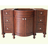 Empire Doral 48'' Bathroom Vanity with Hand Painted Cognac Finish