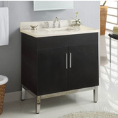 Daytona 30'' Vanity for 3122 Stone Countertops with Multiple Finishes, Sink and Frame & Hardware Option