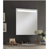 Empire Hollywood 15'' or 24'' Wide Lighted Recessed Mirrored Medicine Cabinet w/ Interior Electrical Outlets