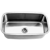 Empire 16-Gauge Undermount Single Bowl Stainless Steel Sink