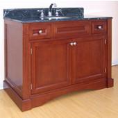 Empire Newport Collection Cinnamon Bathroom Vanity 42'' W