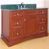Empire Newport Collection Cinnamon Bathroom Vanity 48'' W