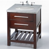 Empire - 30'' Priva Vanity, Dark Cherry