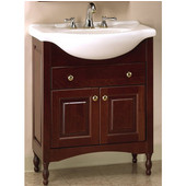 Empire Windsor 22'' Solid Wood Bathroom Vanity in Dark Cherry Finish