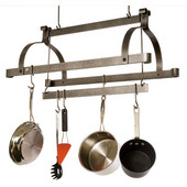 Three Bar Pot Rack, 30''W x 17''D x 27''H