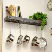 Small Version Premier Bookshelf Kitchen Pot Rack