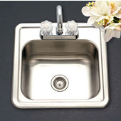 Speciality Series Bar Sink, 15''W x 15''D x 6''H