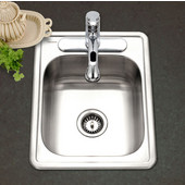 Speciality Series Large Bar Sink, 17''W x 22''D x 7''H