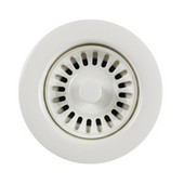 Color Disposal Flange 3-1/2'' Opening, Polar White Finish