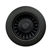 Color Disposal Flange 3-1/2'' Opening, Matte Black Finish