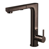 Ascend Pull Out Kitchen Faucet in Oil Rubbed Bronze, Faucet Height: 11-7/16'' H, Spout Reach: 8-7/16'' D, Spout Height: 10-1/4'' H