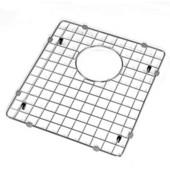 - Rectangular Stainless Steel Sink Grid, 12 3/4'' W x 14 5/8'' D